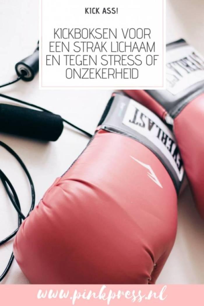 Kickboksen voor een strak lichaam en tegen stress of onzekerheid