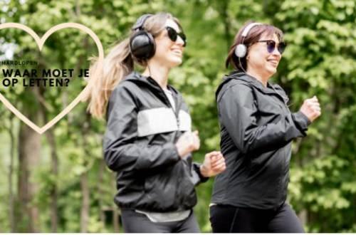 hardlopen op letten - 5x Waar je op moet letten bij het hardlopen