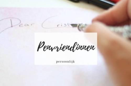 penvriendinnen - Waarom ik een nieuwe penvriendin heb en het ook voor jou leuk is!
