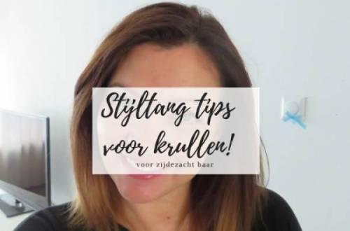 stijltang tips - Van krullen naar stijl haar | stijltang tips voor zijdezacht stijl haar