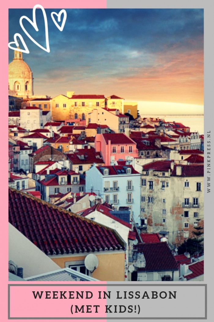 weekend in Lissabon met kinderen - Een weekend weg naar het buitenland met de kinderen