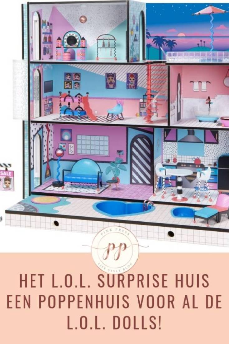 het lol surprise poppenhuis lol doll - De L.O.L. Surprise Bigger Surprise en het L.O.L. Surprise huis!