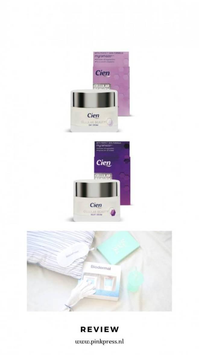 review Biodermal Lidl anti age droge huid - Lidl Cien Cellulair   Biodermal P-CL-E   Review