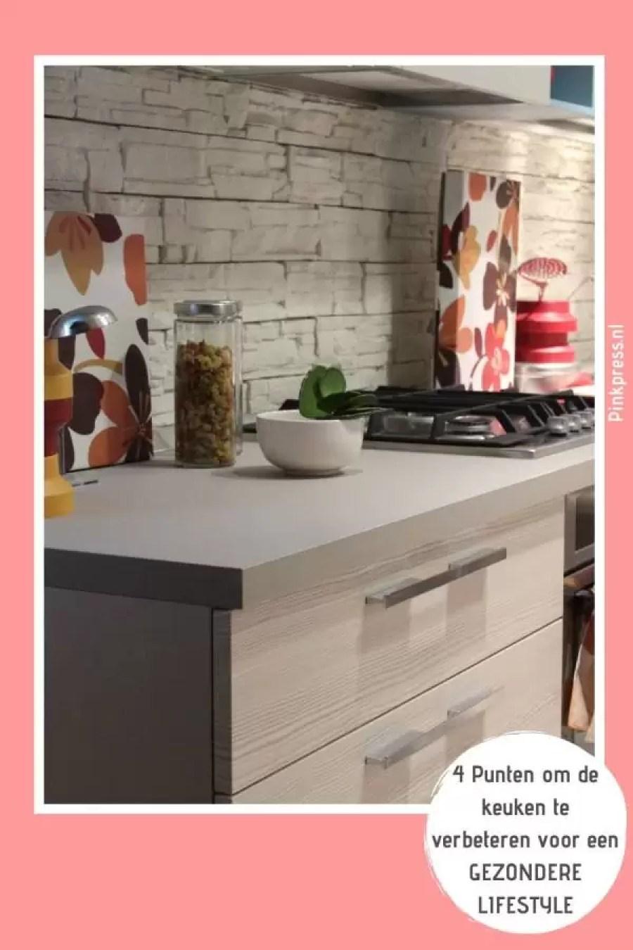 4 Punten om de keuken te verbeteren voor een gezondere lifestyle - Een healthy lifestyle begint in de keuken | interieur inspiratie