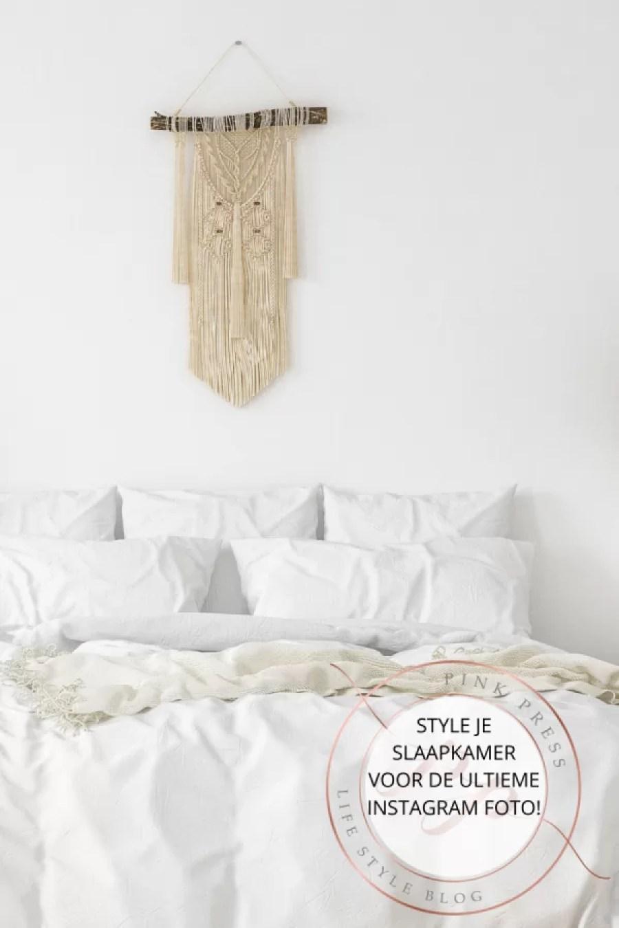 Style je slaapkamer voor de ultieme Instagram foto - Style je slaapkamer voor de ultieme Instagram foto!