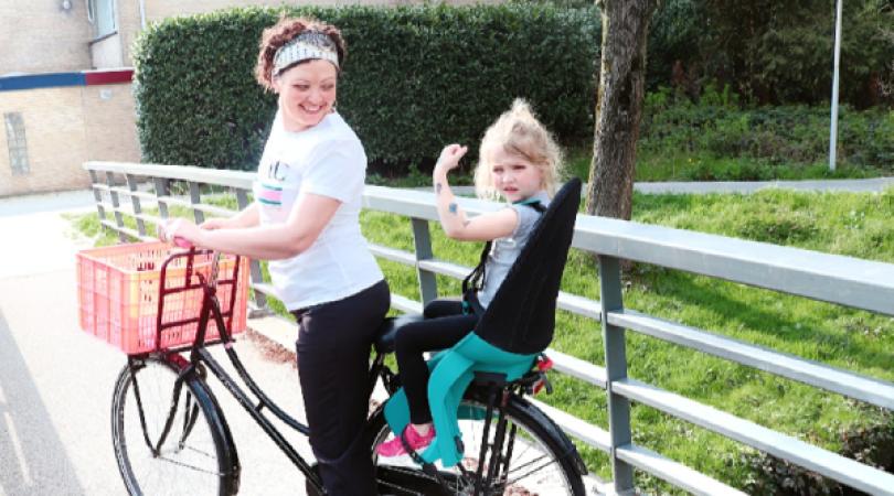 20190331 183211 0000 - Lekker samen fietsen   Review Qibbel Air fietsstoeltje