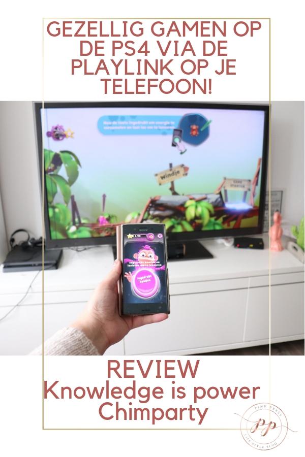 Gezellig gamen op de PS4 via de playlink op je telefoon - Gezellig gamen op de PS4 via de playlink op je telefoon!