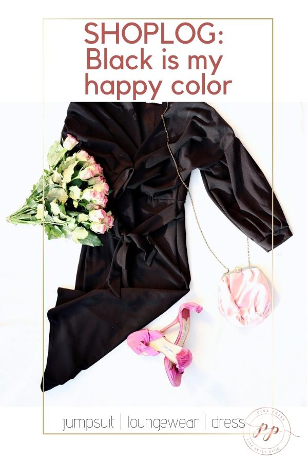 black is my happy color shoplog - Shoplog   Black is my happy color   De jumpsuit en little black dress