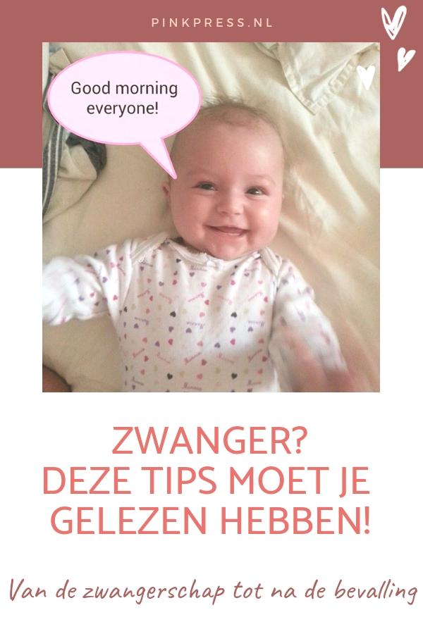 zwangerschapstips - Zwanger? Dan mag je deze tips niet missen!