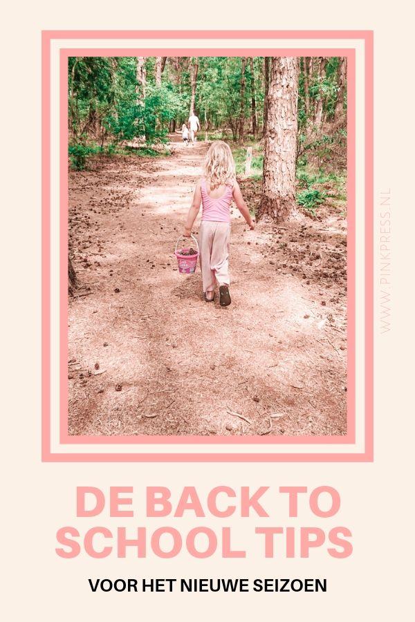 back to school tips - De back to school tips voor het nieuwe seizoen