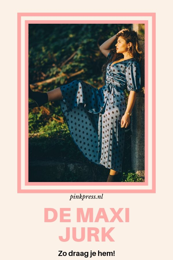 maxi jurk - Mijn inner hippie kan weer naar buiten in een maxi dress..