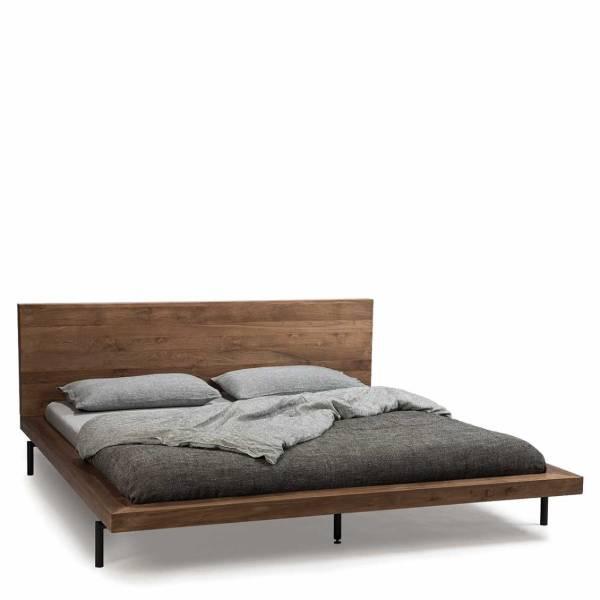 15046   15047 teak hp bed - Als gewoon lekker slapen te veel gevraagd is