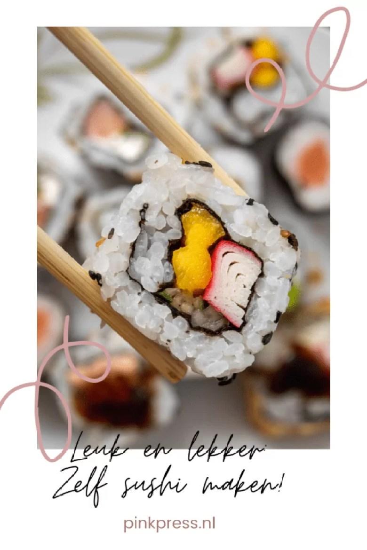 Leuk en lekker: zelf sushi maken