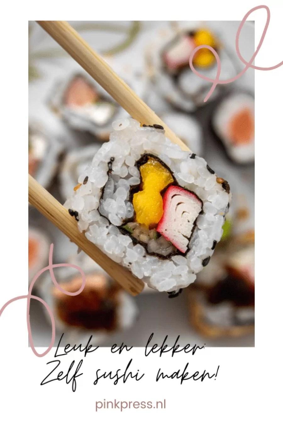 4C12B185 CD3D 4074 956A D92C1EFEB09D - Zelf sushi maken doe je zo!