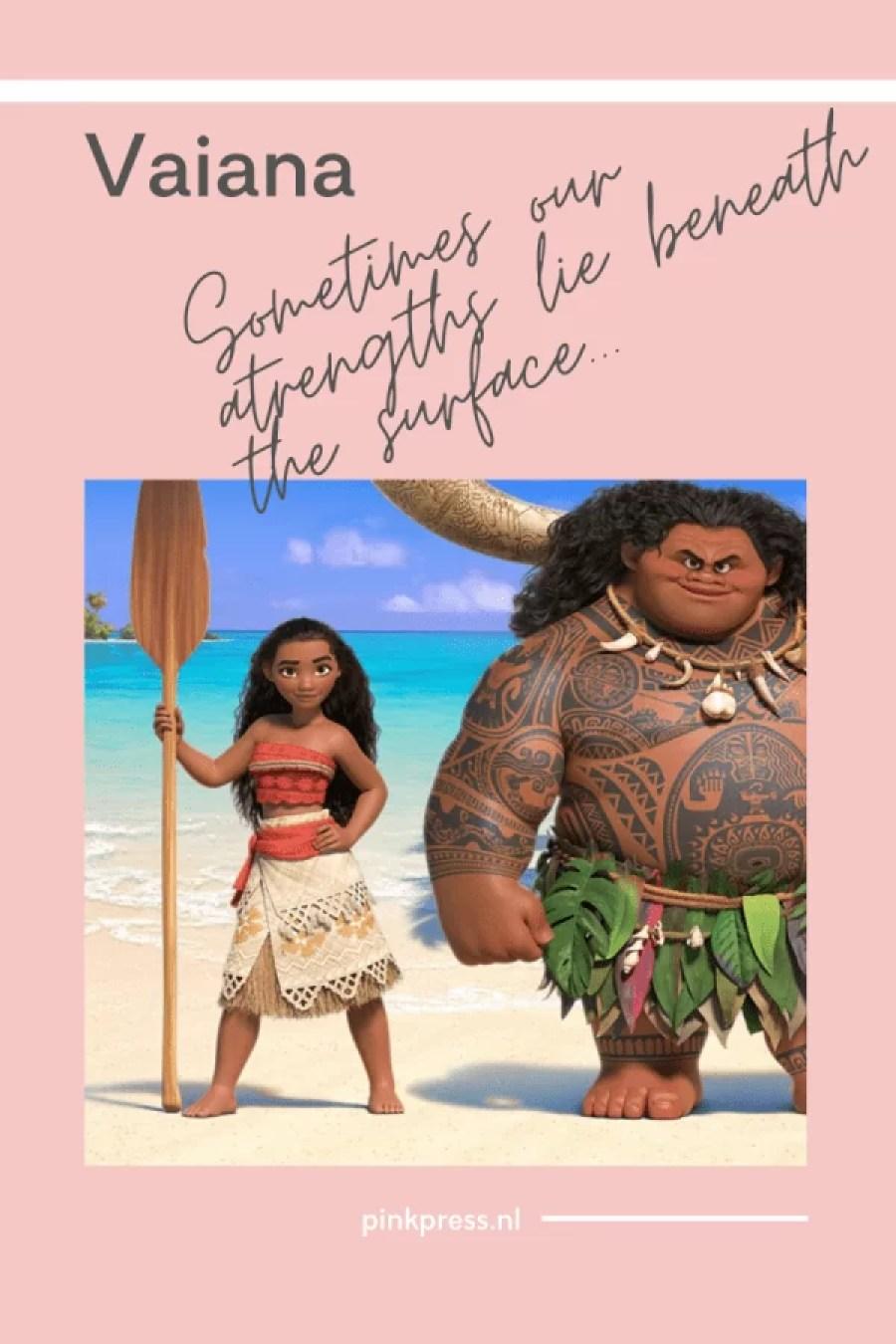 Vaiana nu op Disney+