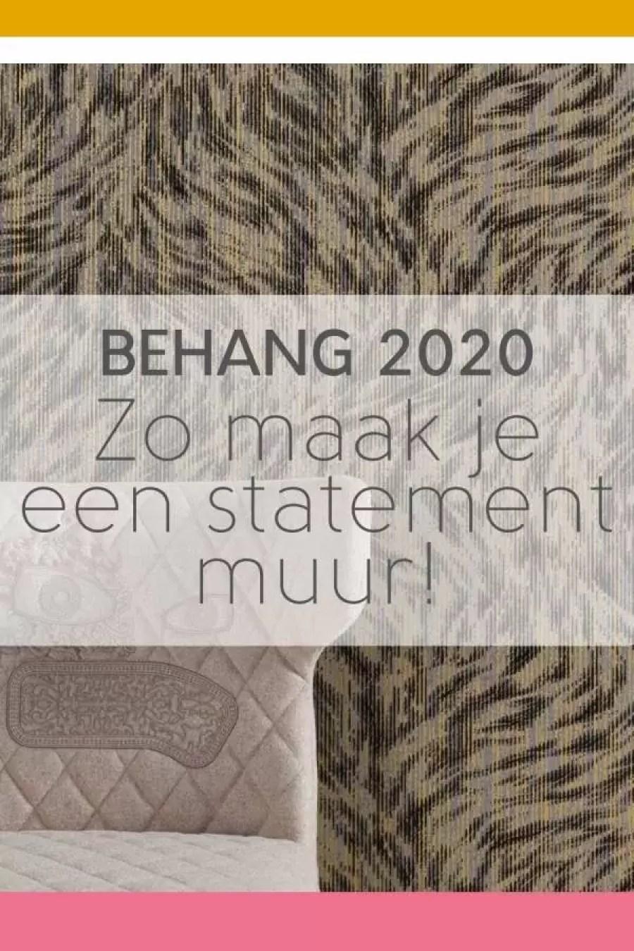 behang 2 - Behang 2020: dit komt er op je muur!