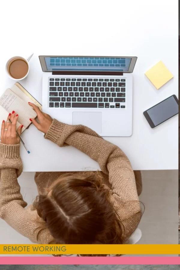 remote working: de wereld ligt voor je open