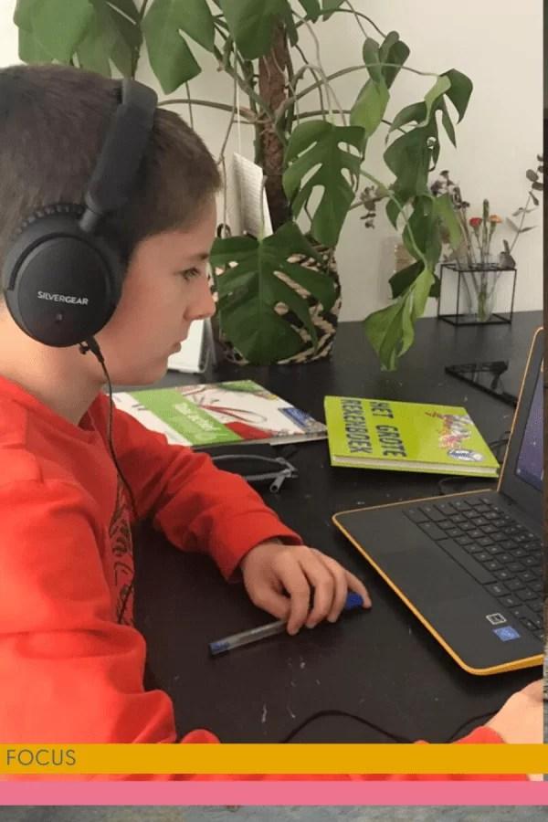 Thuiswerken met kinderen doe je met de Silvergear ANC koptelefoon