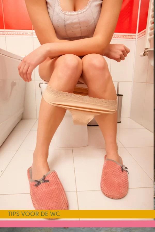 5 minuutjes voor jezelf op een frisse wc
