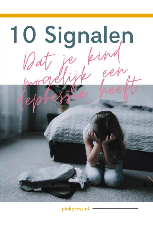 10 signalen dat je kind mogelijk een depressie heeft