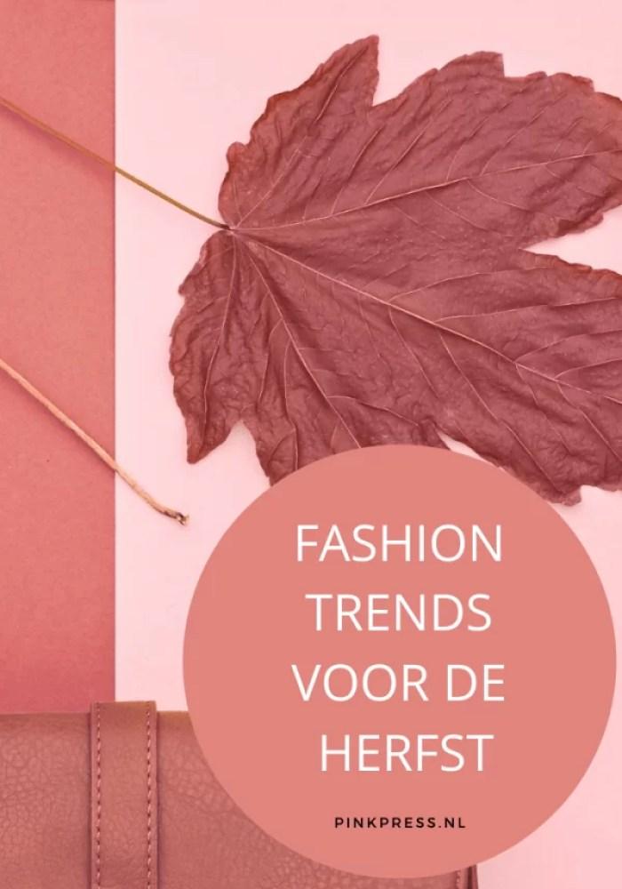 herfst fashion trends