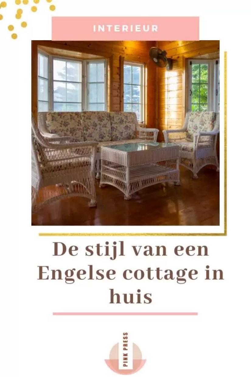De Engelse cottage stijl