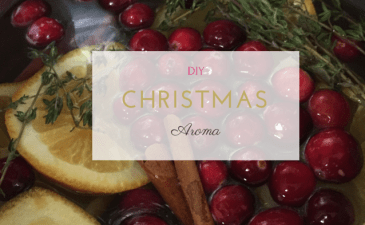 Create Christmas: Simple DIY Scent