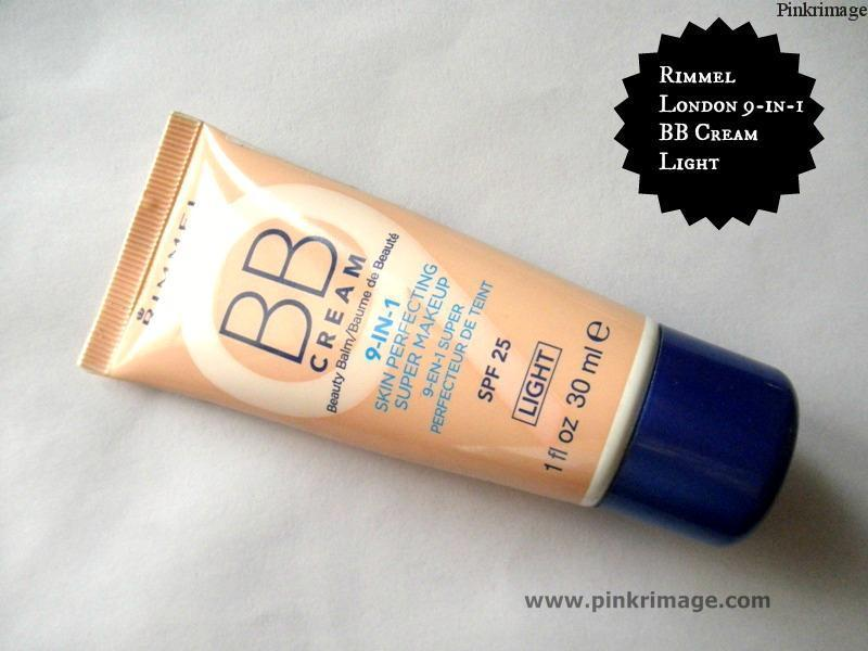 Rimmel London 9-in-1 BB cream in Light-Review & Swatches