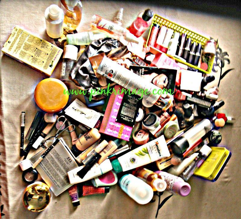 How To Organise Your Make-up- Pictorial