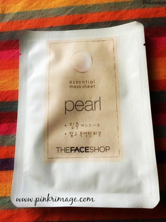 The Face Shop Pearl Essential Mask sheet: Review