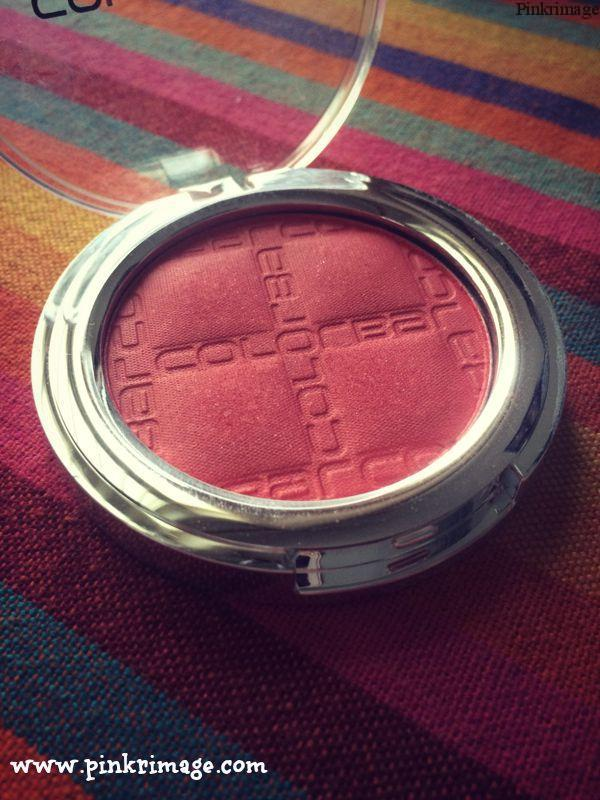 "Colorbar Cheek Illusion Blush ""Coral Bliss"" – Review"