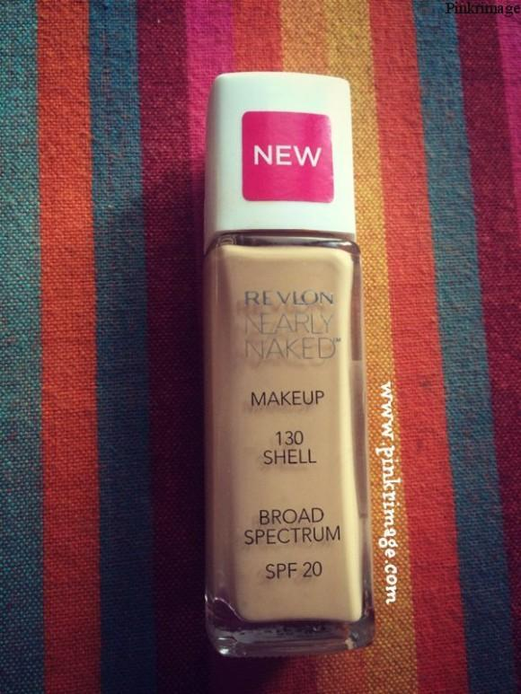 Revlon Nearly Naked Foundation review
