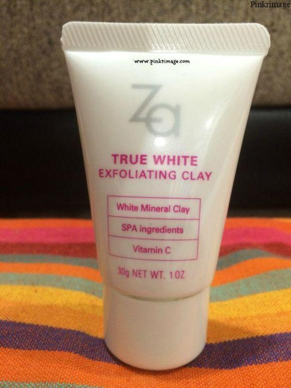 Za True White Exfoliating Clay – Review
