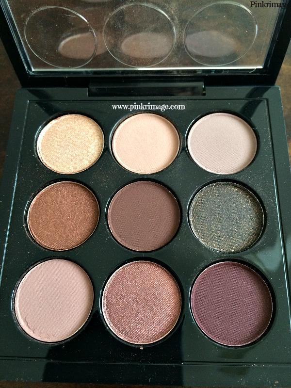 MAC Burgundy Times Nine Palette: Review
