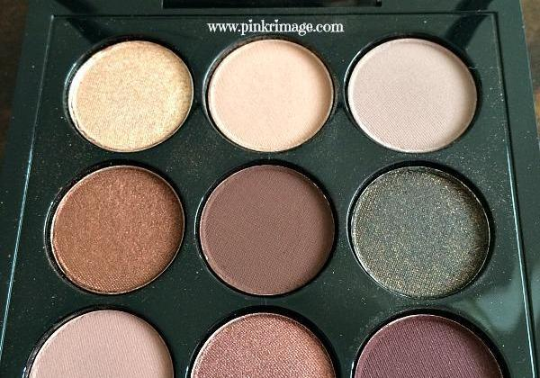 Mac Burgundy Times Nine Palette Review Pinkrimage