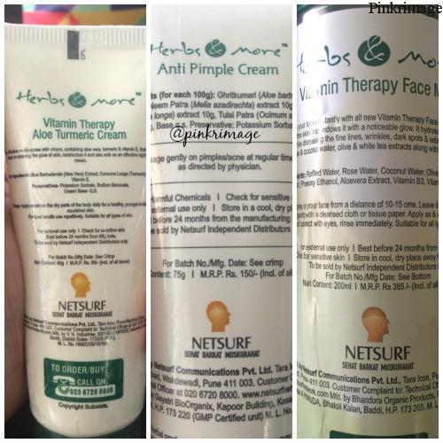 DIY home facial herbsandmore skincare range review (8)