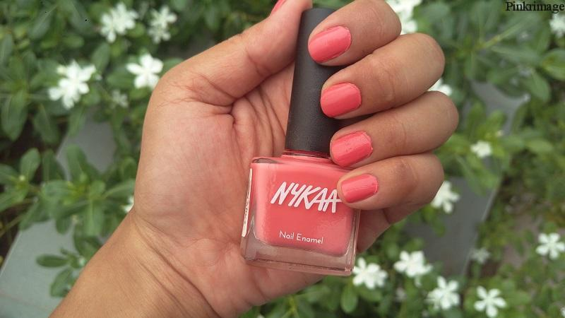 Nykaa Pastel Nail Enamel in Shade Pomegran-ita – Review