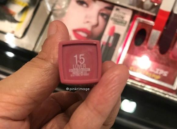 Maybelline Superstay Matte Ink Liquid Lipstick lover