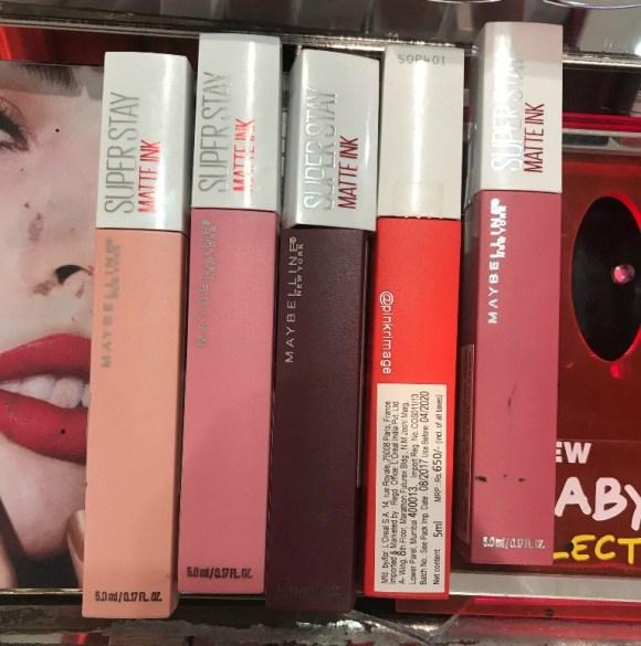 Maybelline Superstay Matte Ink Liquid Lipsticks price