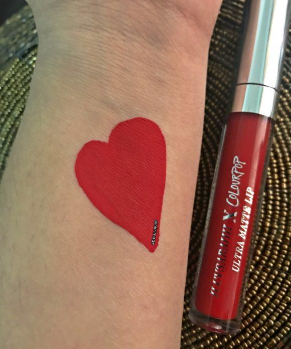 colourpop liquid lipstick arriba