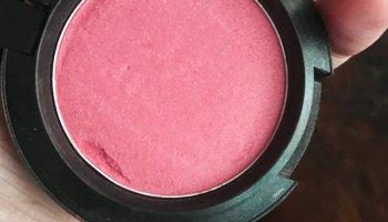 MAC Dollymix Sheertone Shimmer Blush - Review