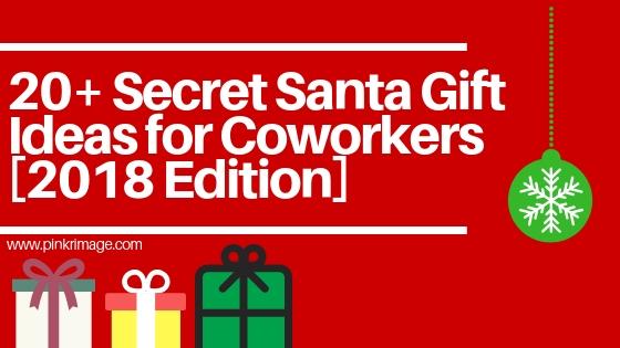 20 secret santa gift ideas for coworkers 2018 edition pinkrimage. Black Bedroom Furniture Sets. Home Design Ideas