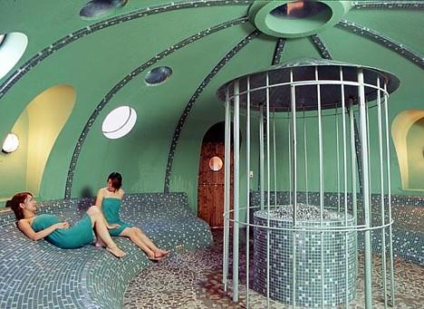 Espuma de poliestireno cúpula de su casa -