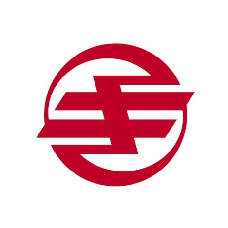 Ki: El logo de Kikai consiste en el estilizado hiragana き (ki).