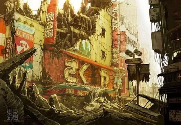 Токийская фантазия: постапокалиптическая Токио -  4