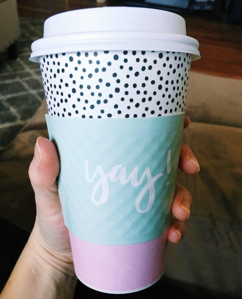 yay coffee mug