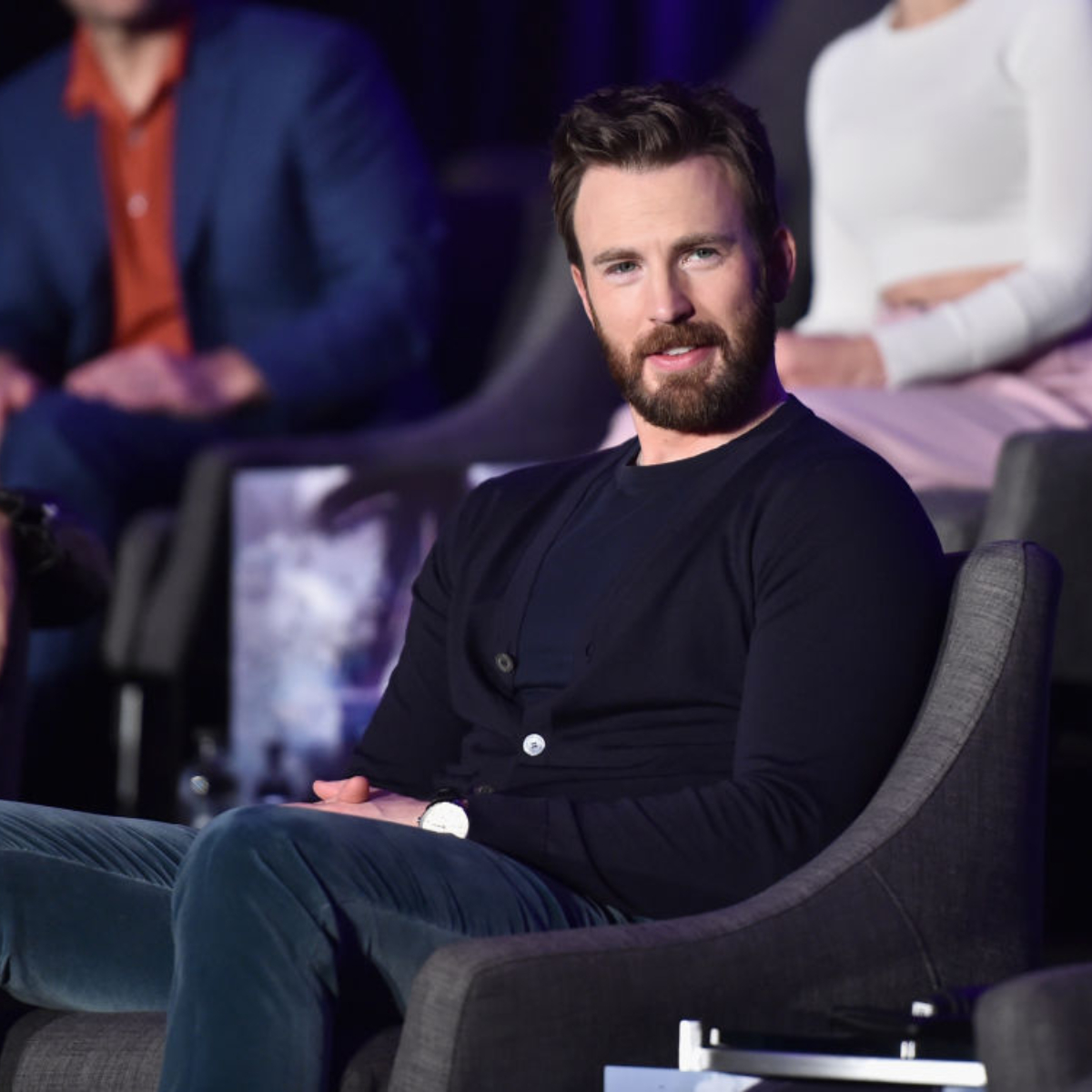 Chris Evans accidentally LEAKS a photo of his 'package' and causes social  media meltdown   PINKVILLA