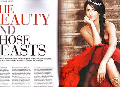 Katrina Kaif on the cover of Filmfare March 2009 67557