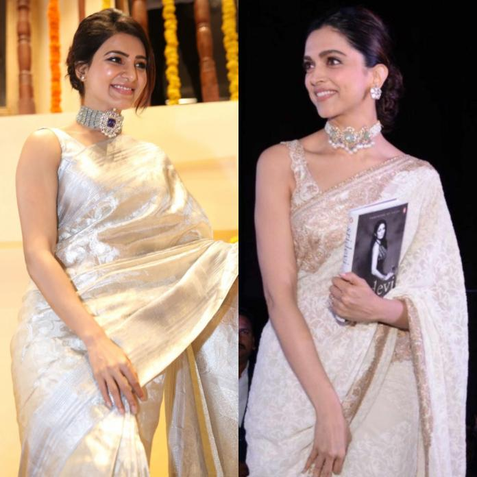 6 Times Samantha Akkineni was inspired by Deepika Padukone's style and  almost twinned with the B town star   PINKVILLA