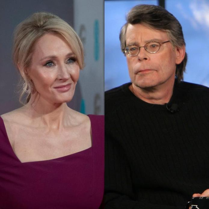 JK Rowling,Hollywood,Stephen King